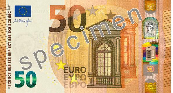 Nuevo billete 50€ Serie Europa