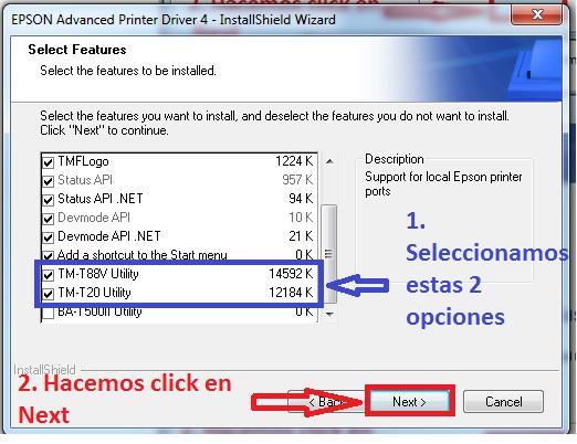 Epson Advanced Printer Driver 4 Tm T88v