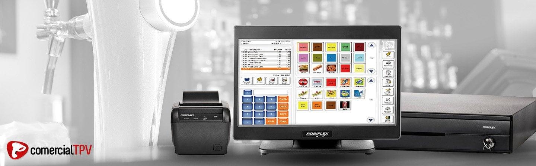 Sistema TPV Profesional con Software Para Restauración o Retail
