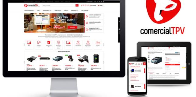 Nueva tienda online de Comercial TPV
