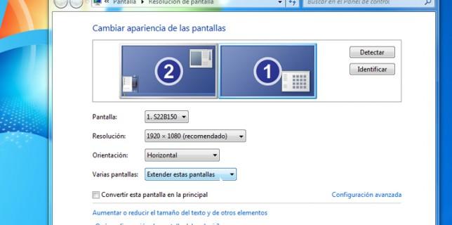 Cómo configurar segunda pantalla TPV