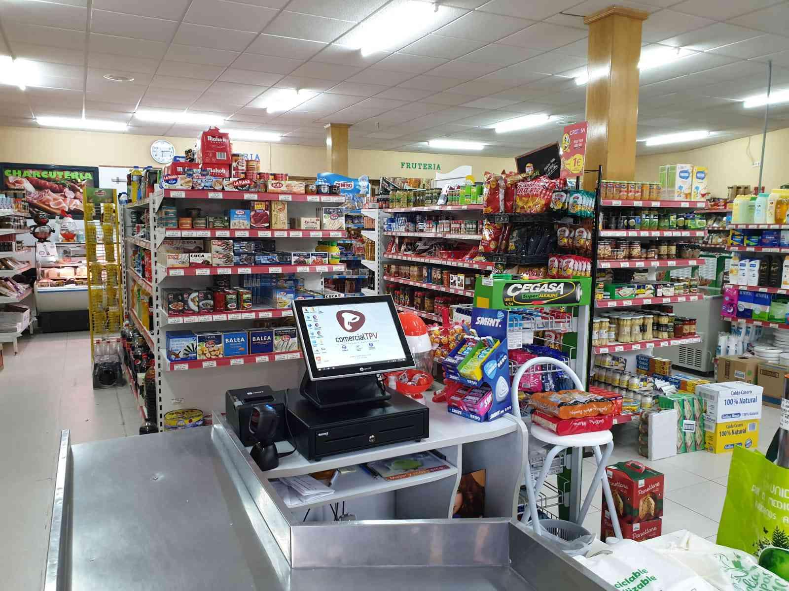 TPV Supermercado Las Navas